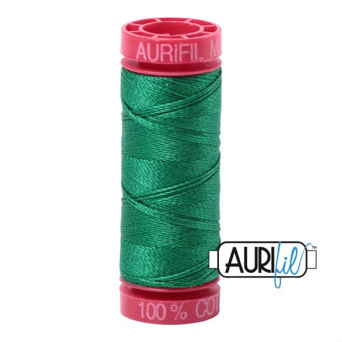 Aurifil Cotton 12wt, 2870 Green
