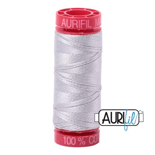 Aurifil Cotton 12wt, 2615 Aluminium