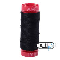 Aurifil Cotton 12wt, 2692 Black