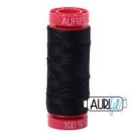Aurifil Cotton 12wt, 2692 Black