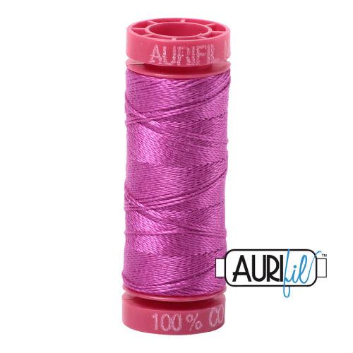 Aurifil Cotton 12wt, 2535 Magenta