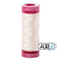 Aurifil Cotton 12wt, 2026 Chalk