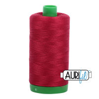 Aurifil Cotton 40wt, 2260 Red Wine