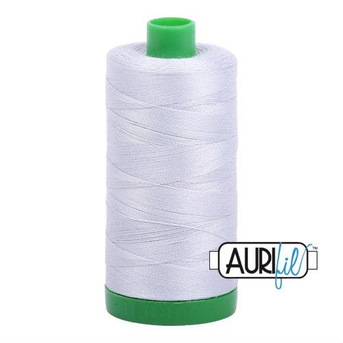 Aurifil Cotton 40wt, 2600 Dove