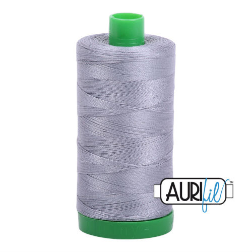 Aurifil Cotton 40wt, 2605 Grey