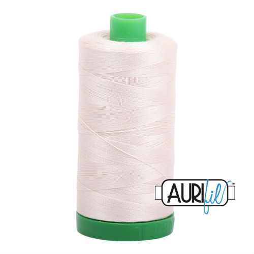 Aurifil Cotton 40wt, 2000 Light Sand