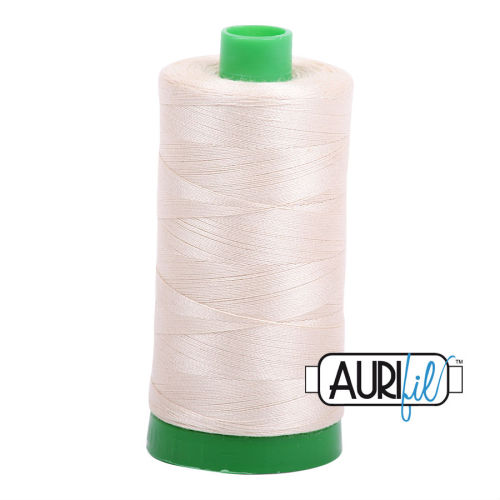 Aurifil Cotton 40wt, 2310 Light Beige