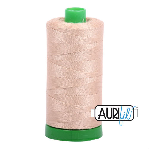 Aurifil Cotton 40wt, 2314 Beige