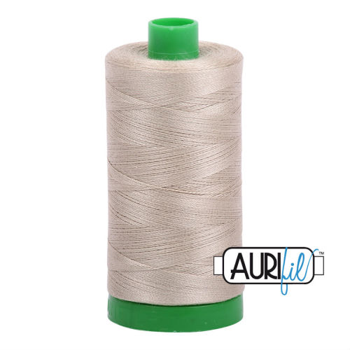 Aurifil Cotton 40wt, 2324 Stone