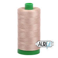 Aurifil Cotton 40wt, 2326 Sand