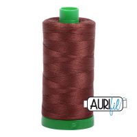 Aurifil Cotton 40wt, 2360 Chocolate