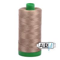 Aurifil Cotton 40wt, 2370 Sandstone