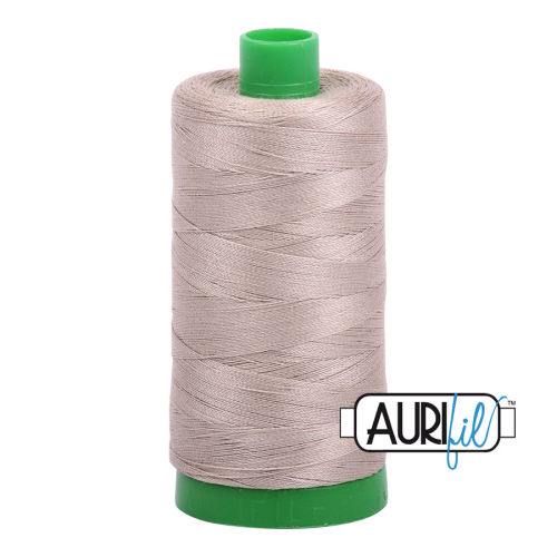 Aurifil Cotton 40wt, 5011 Rope Beige