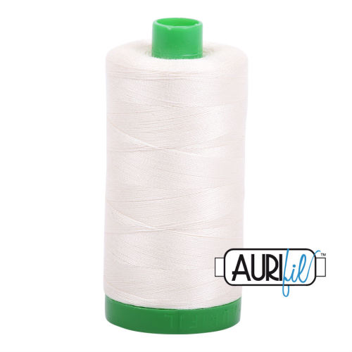 Aurifil Cotton 40wt, 2026 Chalk