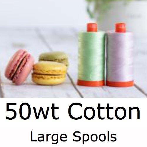 Cotton 50wt Large Reels