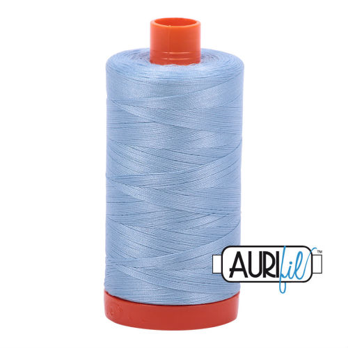 Aurifil Cotton 50wt, 2715 Robins Egg