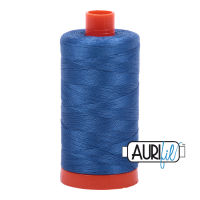 Aurifil Cotton 50wt, 2730 Delft Blue