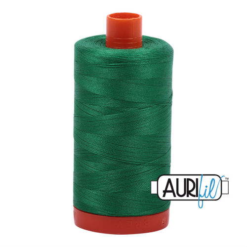 Aurifil Cotton 50wt, 2870 Green