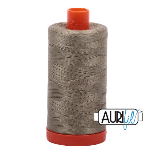 Aurifil Cotton 50wt, 2900 Light Kakhi Green