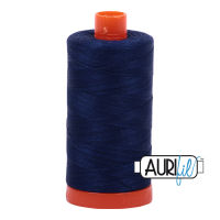 Aurifil Cotton 50wt, 2784 Dark Navy