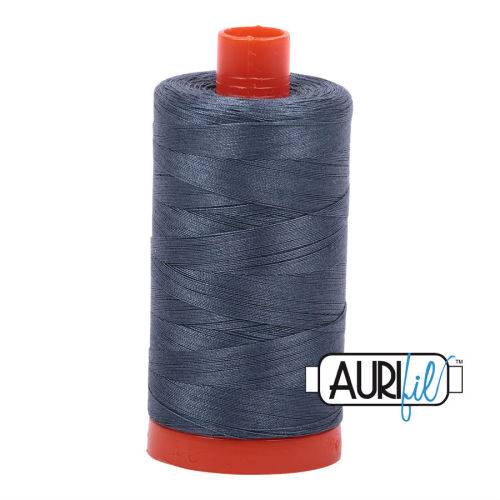 Aurifil Cotton 50wt, 1158 Medium Grey
