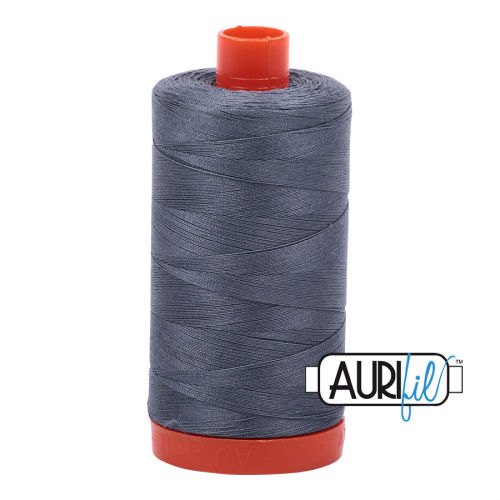 Aurifil Cotton 50wt, 1246 Dark Grey