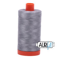 Aurifil Cotton 50wt, 2605 Grey