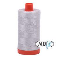 Aurifil Cotton 50wt, 2615 Aluminium