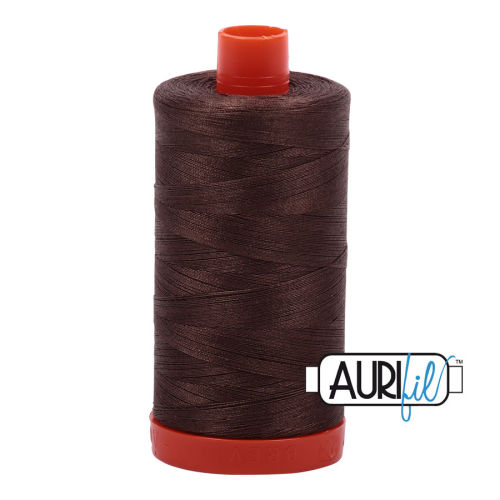 Aurifil Cotton 50wt, 1140 Bark