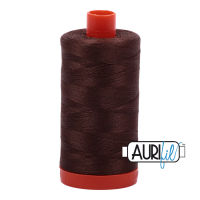 Aurifil Cotton 50wt, 1285 Medium Bark