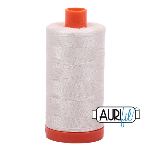 Aurifil Cotton 50wt, 2311 Muslin