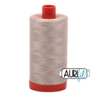 Aurifil Cotton 50wt, 2312 Ermine