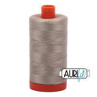 Aurifil Cotton 50wt, 2324 Stone