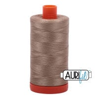 Aurifil Cotton 50wt, 2325 Linen