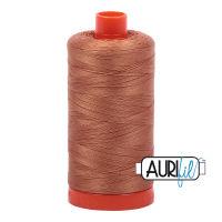 Aurifil Cotton 50wt, 2330 Light Chestnut