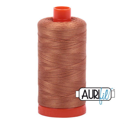 Aurifil Cotton 50wt, 2330 Light Chestnut