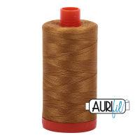 Aurifil Cotton 50wt, 2975 Brass