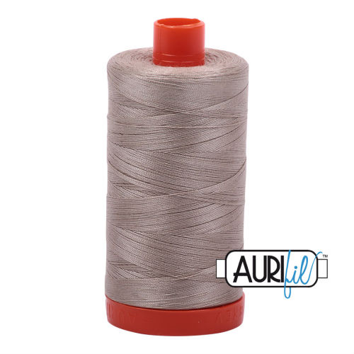 Aurifil Cotton 50wt, 5011 Rope Beige