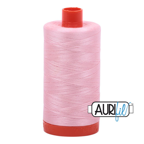 Aurifil Cotton 50wt, 2423 Baby Pink