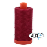 Aurifil Cotton 50wt, 1103 Burgundy