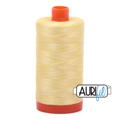 Aurifil Cotton 50wt, 3910 Lemon Ice