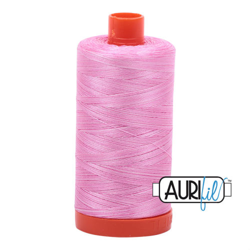 Aurifil Cotton 50wt, 3660 Bubblegum