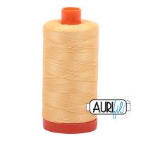 Aurifil Cotton 50wt, 2130 Medium Butter