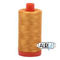 Aurifil Cotton 50wt, 2140 Orange Mustard