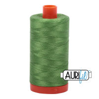 Aurifil Cotton 50wt, 1114 Grass Green