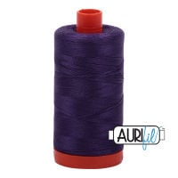 Aurifil Cotton 50wt, 2582 Dark Violet