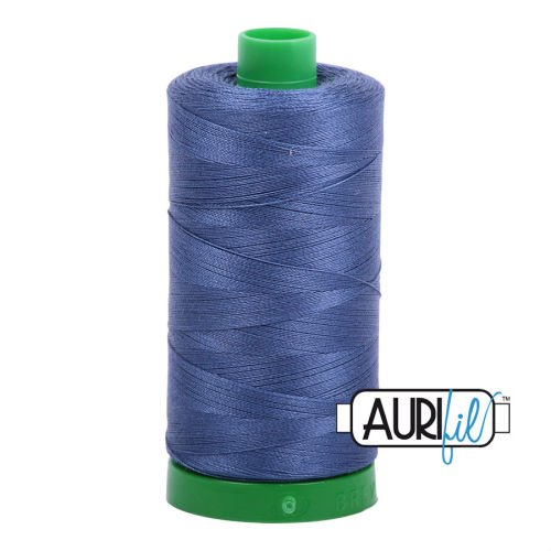 Aurifil Cotton 40wt, 2775 Steel Blue