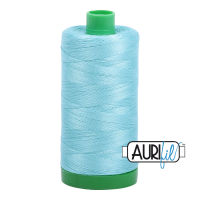 Aurifil Cotton 40wt, 5006 Light Turquoise