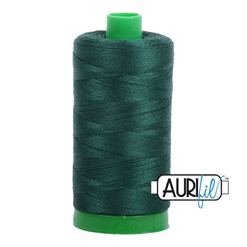 Aurifil Cotton 40wt, 2885 Medium Spruce