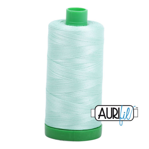 Aurifil Cotton 40wt, 2830 Mint